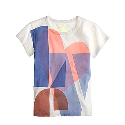 Girls' love tee