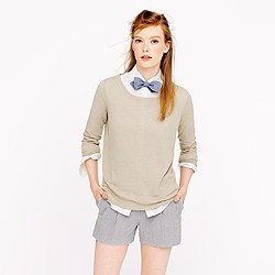 Summerweight linen sweater