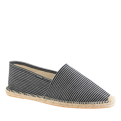 Soludos® Dali espadrilles in denim stripe
