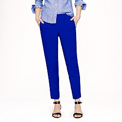 Pull-on lined crepe pant