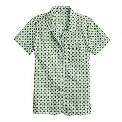 Frost foulard short-sleeve shirt