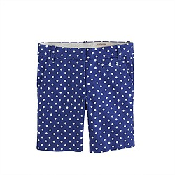 Girls' bermuda short in dot