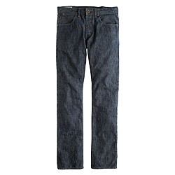 Wallace & Barnes slim pant in Japanese chambray
