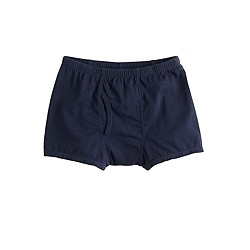 Boys' solid boxer briefs