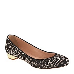 Collection Janey calf hair flats