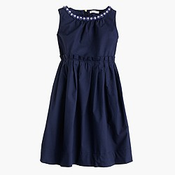 Girls' Collection poplin Loulie dress