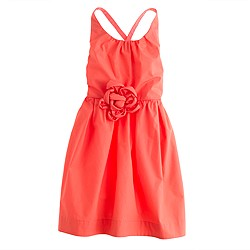 Girls' crisscross sundress