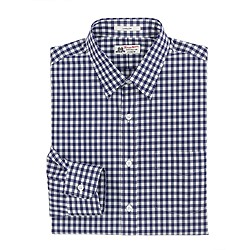 Thomas Mason® for J. Crew Ludlow shirt in vintage navy gingham