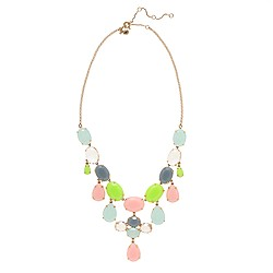 Crystal drops necklace