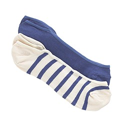 Boys' no-show socks two-pack