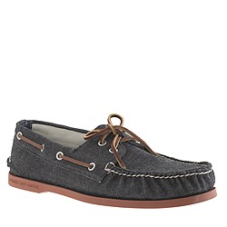 Sperry Top-Sider® for J.Crew Authentic Original 2-eye boat shoes in denim