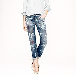 Pre-order Collection painted vintage straight jean
