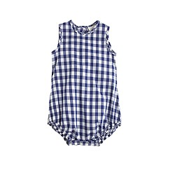 Baby one-piece in gingham