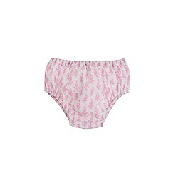 Baby bloomers in thistle print