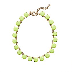Neon stone necklace
