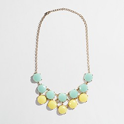 Factory tiered stone necklace