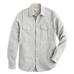 Wallace & Barnes wool hunting overshirt