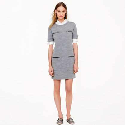 Zip-pocket dress
