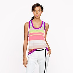 Pre-order The Elder Statesman® for J.Crew cashmere ultra-stripe tank