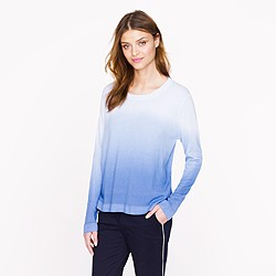 Pre-order The Elder Statesman® for J.Crew blurred cashmere crewneck sweater