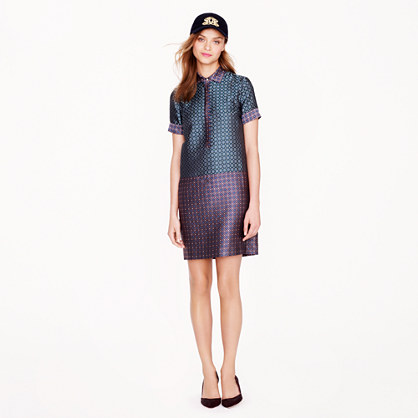 Collection dual foulard shirtdress