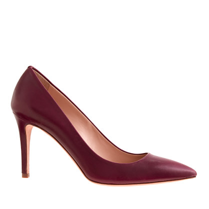 Everly leather pumps