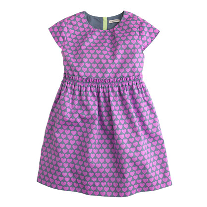 Girls' heart stack dress