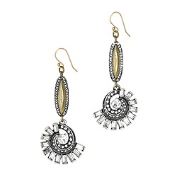 Lulu Frost for J.Crew swirling waves earrings