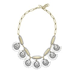 Lulu Frost for J.Crew swirling wave necklace