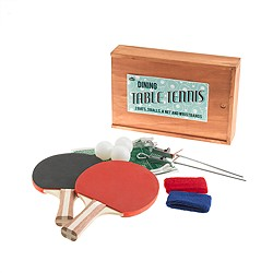 Natural Products LTD.™ dining table tennis set