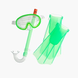 Kids' Speedo® Aqua Quest snorkel set