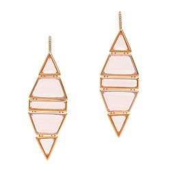 Jennifer Meyer for J.Crew Ruby dangle earrings