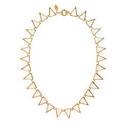 Jennifer Meyer for J.Crew Carson triangle necklace