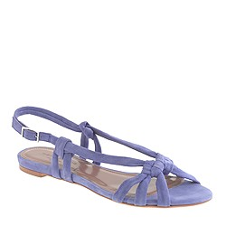 Pre-order Tabitha Simmons® for J.Crew Maggie Mott sandals in suede