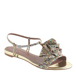 Pre-order Tabitha Simmons® for J.Crew Daisy Willow sandals in yellow
