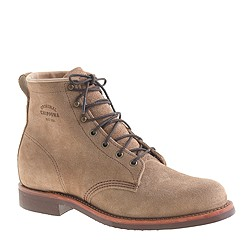 Original Chippewa® for J.Crew suede plain-toe boots