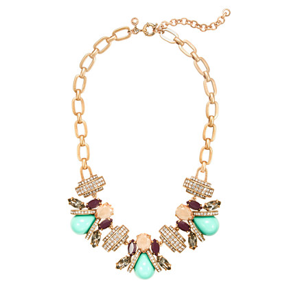 J Crew Honeybee Necklace