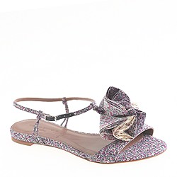 Pre-order Tabitha Simmons® for J.Crew Daisy Willow sandals in blue