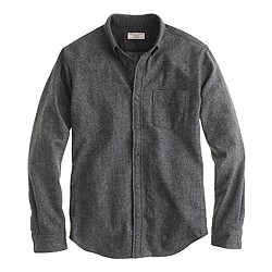 Wallace & Barnes Donegal wool shirt