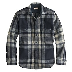 Wallace & Barnes plaid CPO jacket