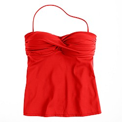 D-cup twist-front swing top