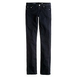 Matchstick jean in pitch black wash