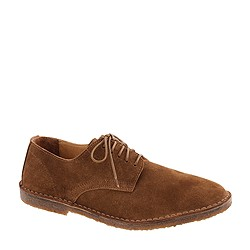 MacAlister oxfords in suede