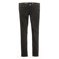 Tall toothpick jean in pitch black wash