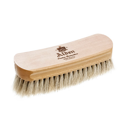 "Alden® 6"" natural bristle polishing brush"