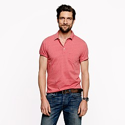 Tall broken-in pocket polo