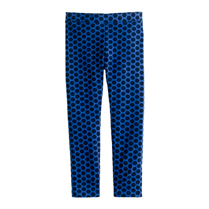 Girls' everyday leggings in spotted