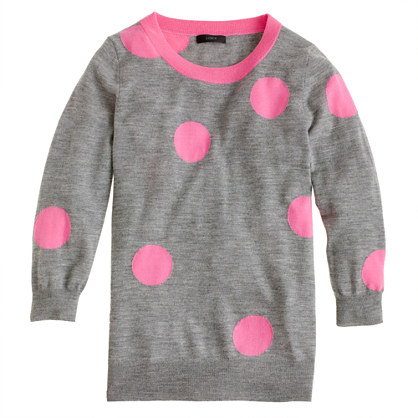 Tippi sweater in polka dot