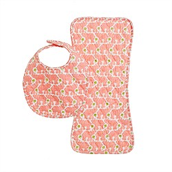 Rikshaw Design™ burp cloth and bib set