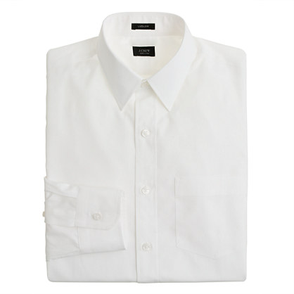 Ludlow point-collar shirt